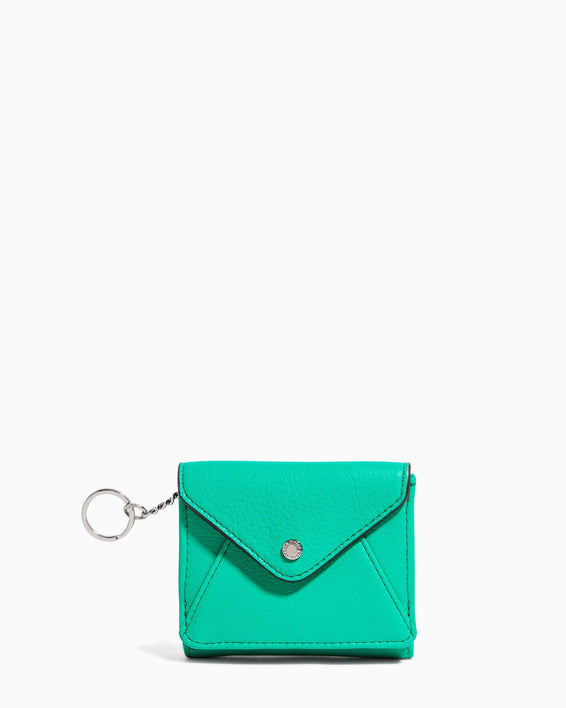 Ashley Trifold Wallet Earth Green - front