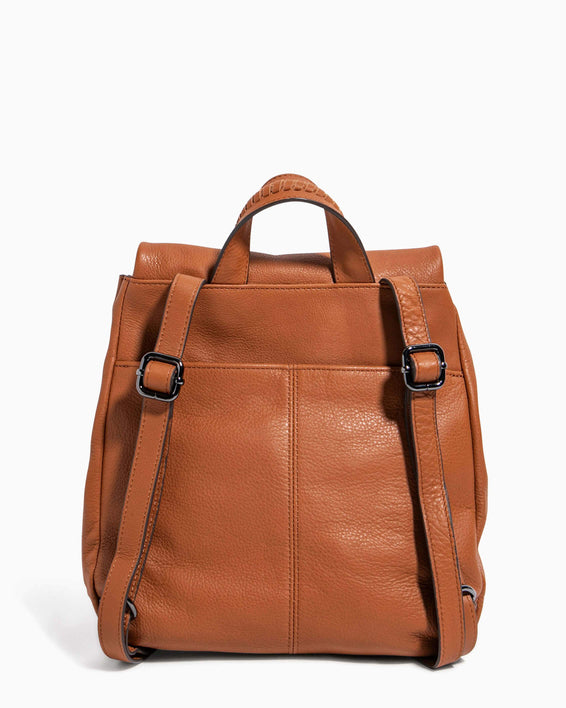 Bali Backpack Chestnut - back