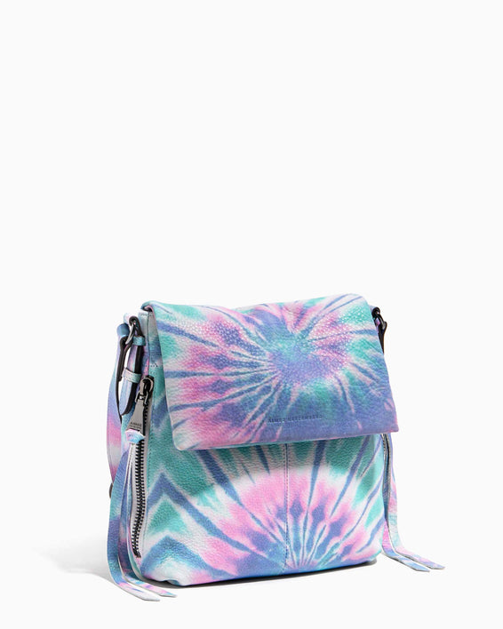 Bali Tall Crossbody Spiral Tie Dye - side angle