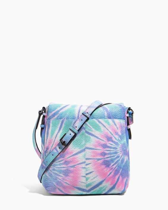 Bali Tall Crossbody Spiral Tie Dye - back