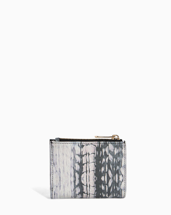 Go Getter Bifold Wallet Feather Print - inside