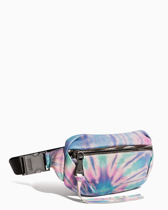 Milan Bum Bag Spiral Tie Dye - side angle