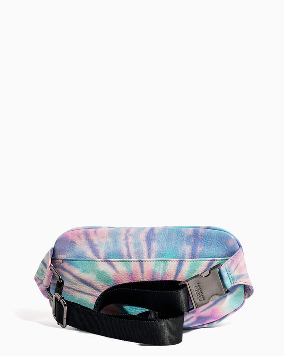 Milan Bum Bag Spiral Tie Dye - back