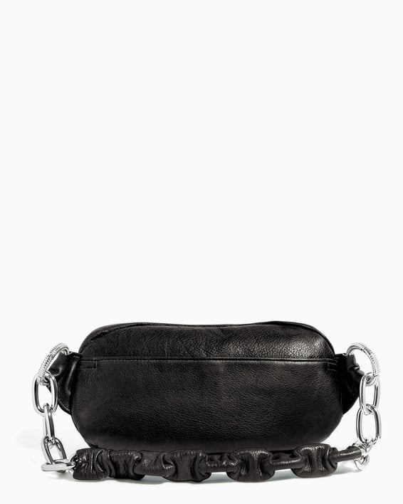 Outta This World Bum Bag With Chain Strap Black - back