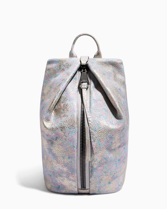 Tamitha Backpack Opal Distressed Metallic - front