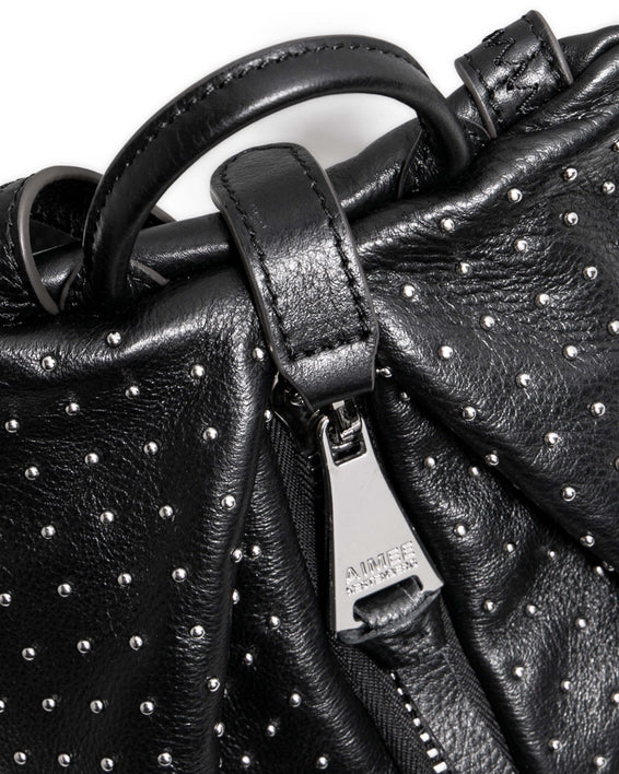 Tamitha Mini Backpack - black studded detail