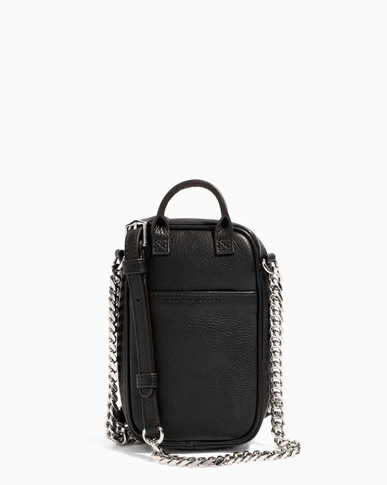 Tamitha Phone Crossbody Black Studded - back