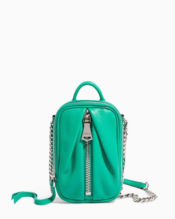 Tamitha Phone Crossbody Earth Green - front