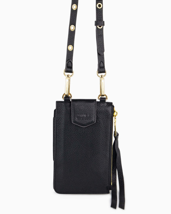 Out Of Office Phone Crossbody - black alternate view