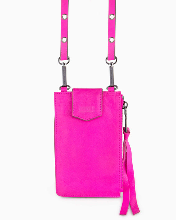Out Of Office Phone Crossbody - pop pink alternate view