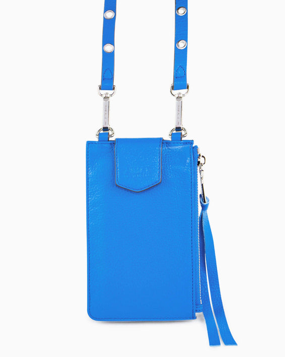 Out Of Office Phone Crossbody - sky blue alternate view