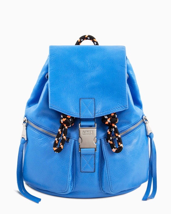 Sky High Backpack - sky blue front