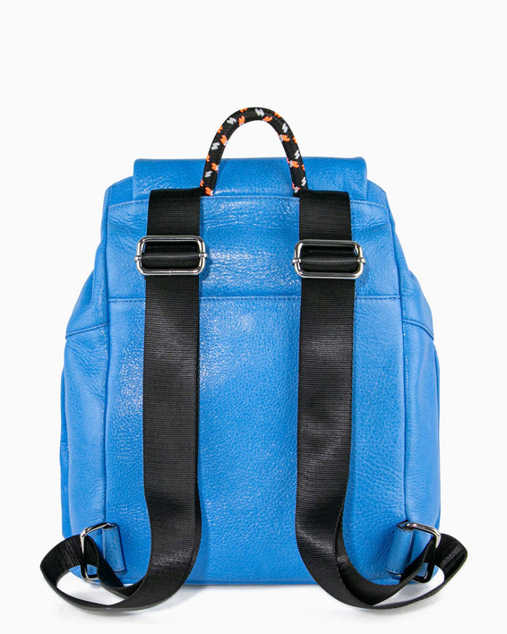 Sky High Backpack - sky blue back