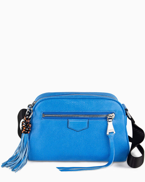 Sky High Crossbody - sky blue front