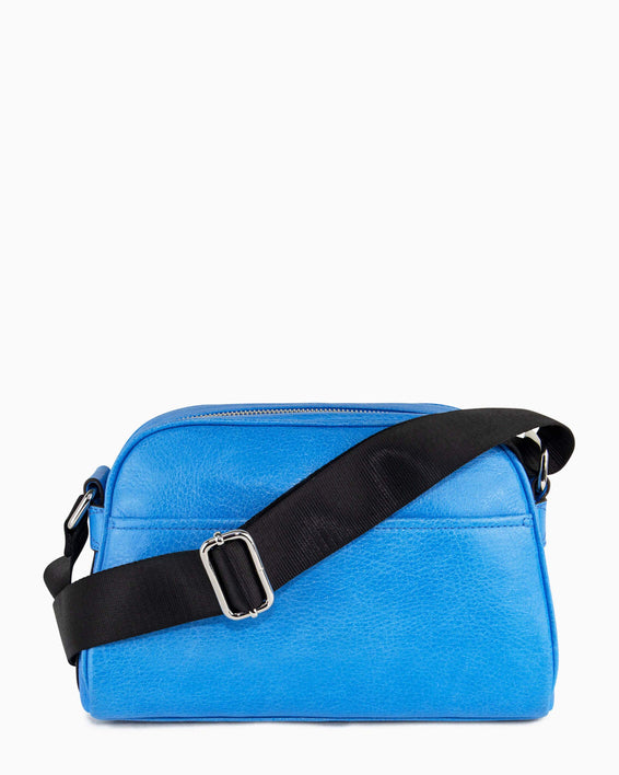 Sky High Crossbody - sky blue back