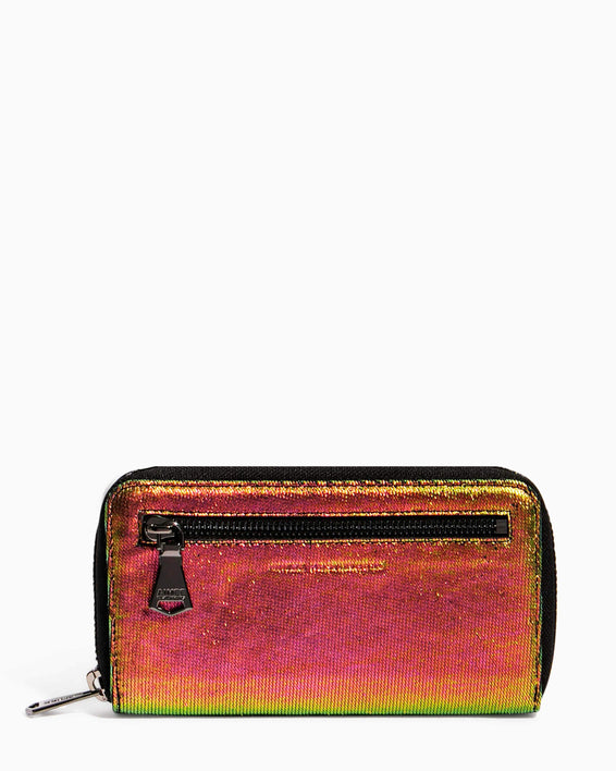Zip It Up Continental Wallet iridescent Scales