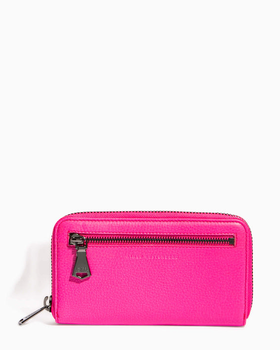 Zip It Up Continental Wallet Pop Pink