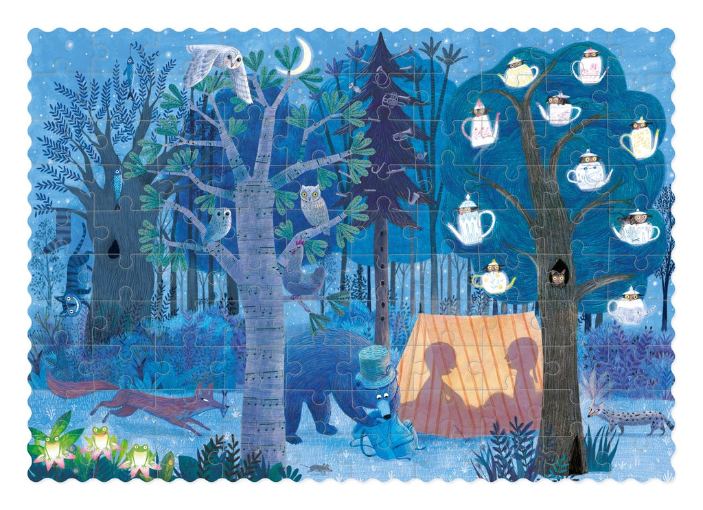 Londji Day&night.in the forest pocket puzzle