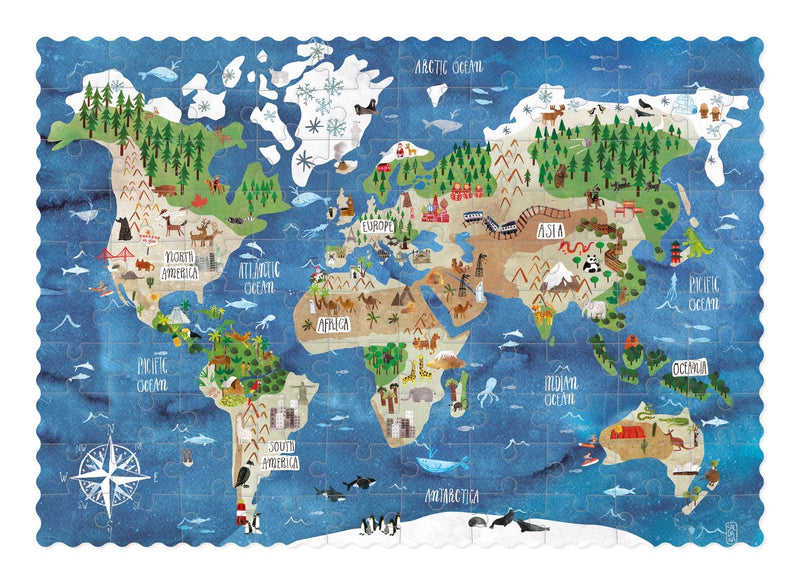 Londji Discover the world pocket puzzle