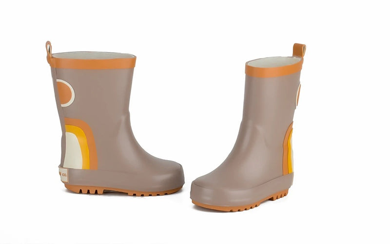Grech & Co Rubber boots Stone