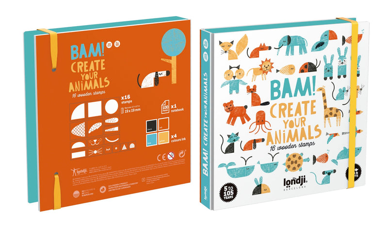 Londji Bam! Create your animals