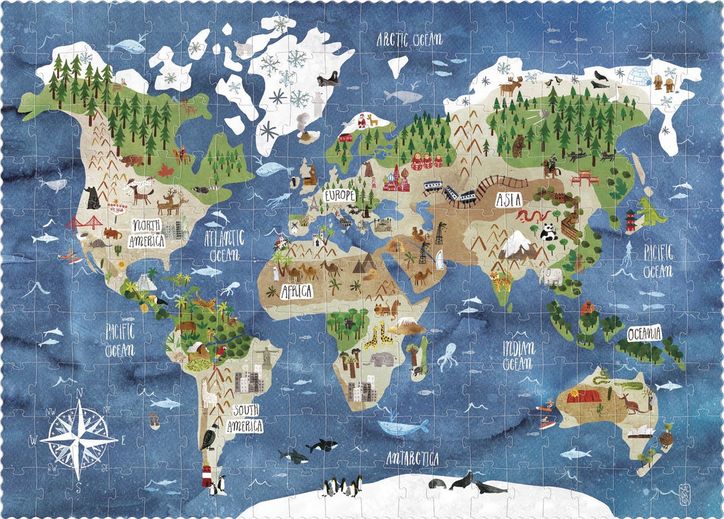 Londji Discover the world « Look and find » puzzle