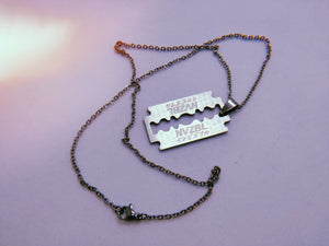 NVZBL Razor Necklace