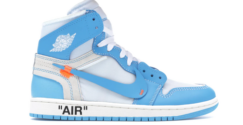 Off White x Jordan 1 Basketball Shoes