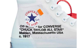 Off-White Converse Chuck Taylor All-Star Vulcanized Hi