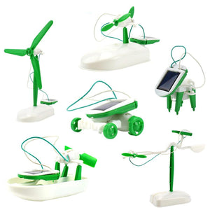 Model Kit Science Toys Solar Robot