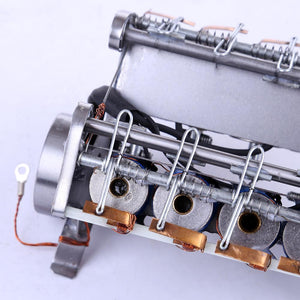 High Speed Model Engine Electromagnetic 8-Cylinder