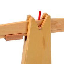 Load image into Gallery viewer, Baby Toy Montessori Wooden Balance Beam Weighing