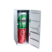 Load image into Gallery viewer, Mini Cooler fridge creative cosmetics refrigerator
