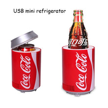 Load image into Gallery viewer, Mini Cooler refrigerator Dual use car home