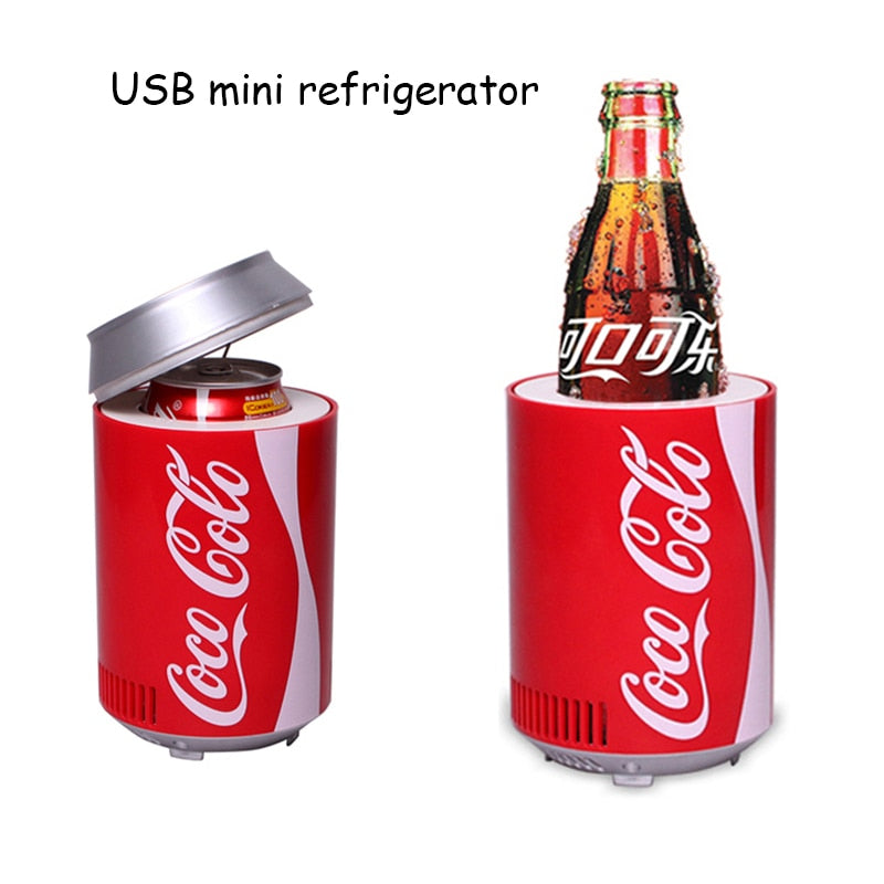 Mini Cooler refrigerator Dual use car home