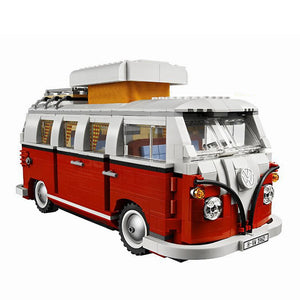 Toys Kit DIY Building Blocks Van Car City