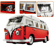 Load image into Gallery viewer, Toys Kit DIY Building Blocks Van Car City