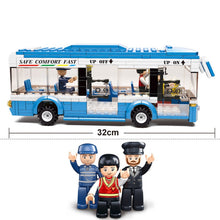 Load image into Gallery viewer, Building Blocks Toy Kit DIY City Bus