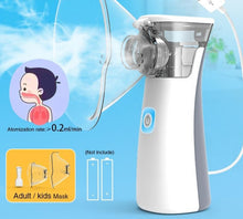 Load image into Gallery viewer, Nebulizer Handheld Medical for kids mini