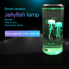 Load image into Gallery viewer, Fish Tanks Aquarium Jellyfish Night Light Bedside
