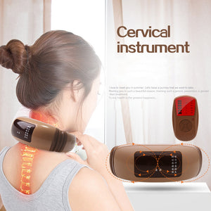 Massage Physiotherapeutic Neck  Acupuncture Magnetic