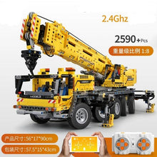 Load image into Gallery viewer, Toys Model Building Blocks Motorized Excavator Truck