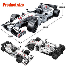 Load image into Gallery viewer, Summit Racing City F1 Racing Car Building Blocks bricks Toys