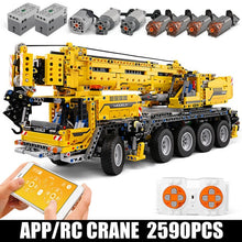 Load image into Gallery viewer, Kids Toys Mould King Technic Remote control Truck mode