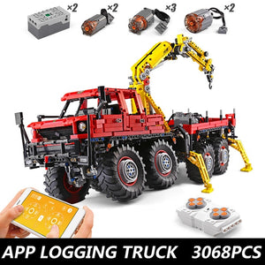 Kids Toys Mould King Technic Remote control Truck mode