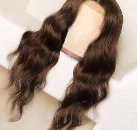 Wigs For Women Brazilian Remy Hair Dark Brown