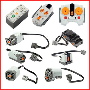 Technic parts motor multi power functions tool