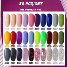 Load image into Gallery viewer, Nail Polish Set Color Gel UV