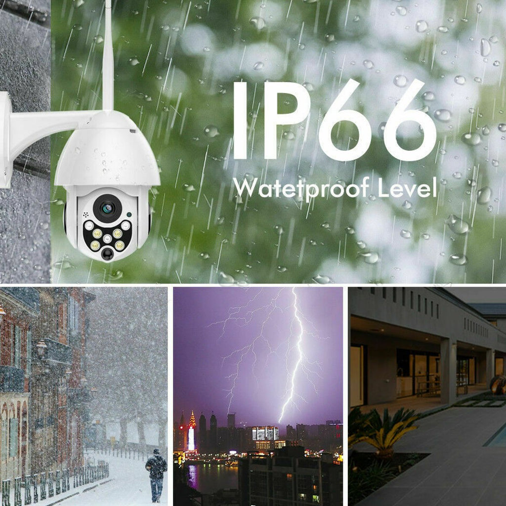 HD WiFi IP Security Camera 7 LEDs Infrared Night Vision Outdoor Waterproof