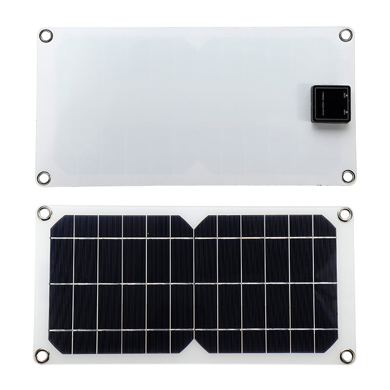 10w 5V 340*180mm Flexible Solar Panel for Outdoor Activities